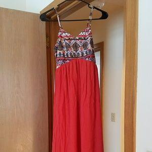 Women's Bohemian Maxi Dress